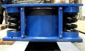 Wyroby BHP przeciw-drganiowe (wibroizolatory, amortyzatory, neutralizatory elektryczności statycznej)